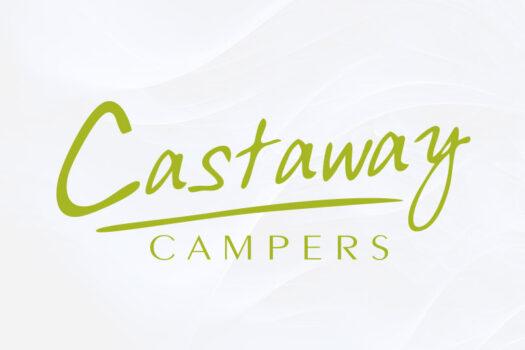 Castaway Campers Rockhampton | Combination Logo Design